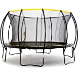 SkyBound Stratos 12 14 15 Foot Trampoline with Updated Safety Net & Top Ring for 2019 - Exceeds ASTM Safety Rating Construction - Built to Last