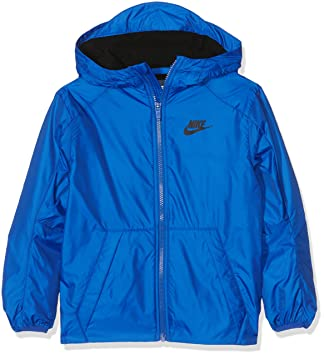 Nike B NSW Jkt Fleece Lined Chaqueta, Niños, Azul (Game Royal/Negro), S: Amazon.es: Deportes y aire libre