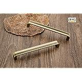 DEW MAT Brass Antique Finish Wardrobe Handles (6 Inch) -4 Pieces