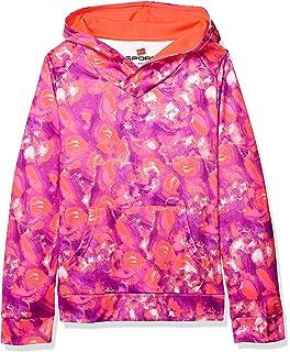 Hanes Girls Big Tech Fleece Raglan Zip Hood