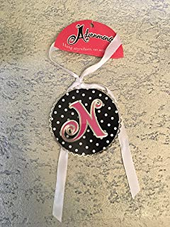 product image for ChemArt Adornment Letter N Keepsake Black and White