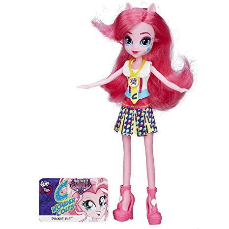 Amazoncom My Little Pony Equestria Girl Pinkie Pie Toys Games