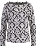 More & More Damen Shirt, Schwarz-Weiß