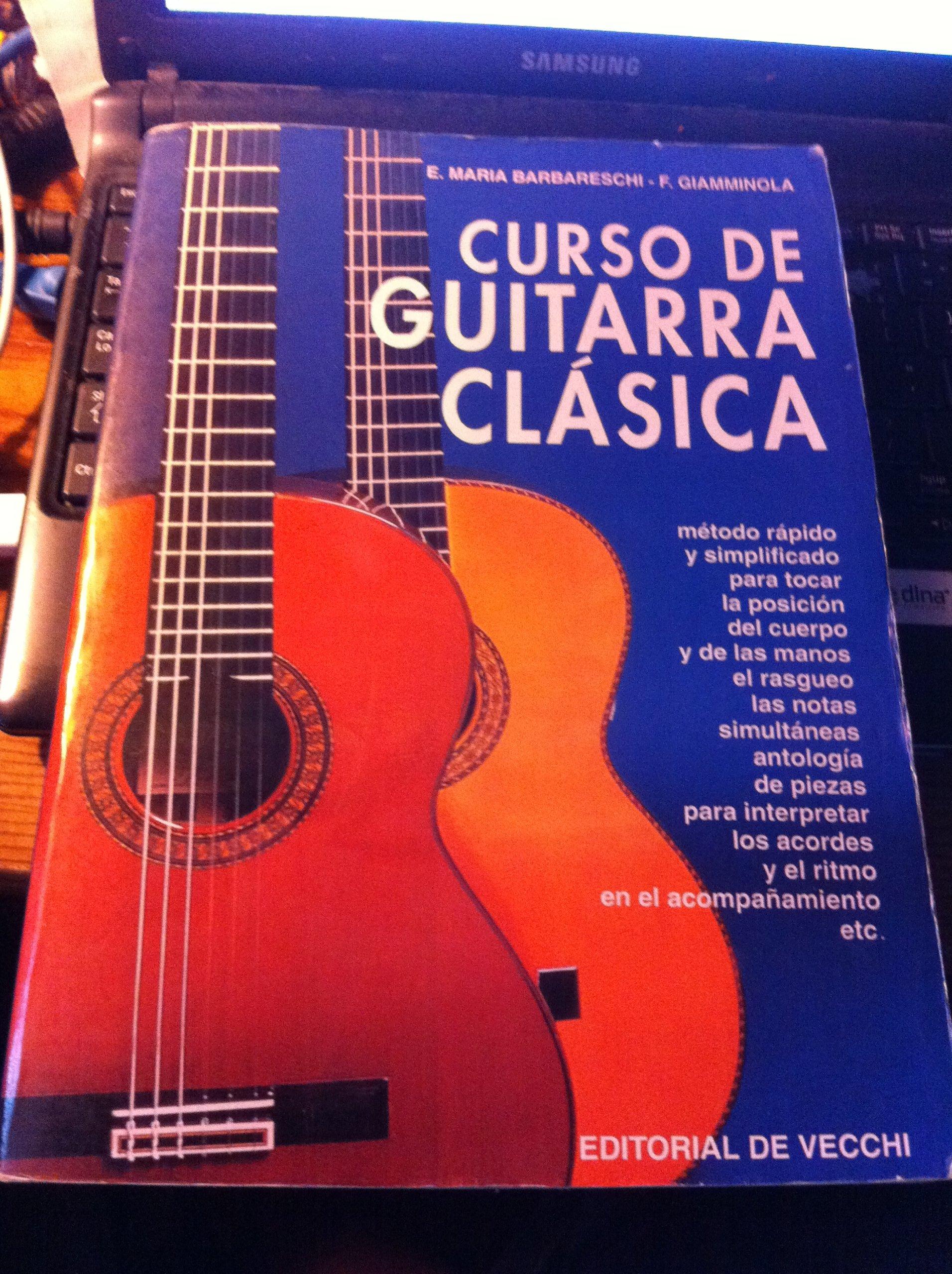 Curso de guitarra clasica: Amazon.es: Barbareschi, E. Maria: Libros
