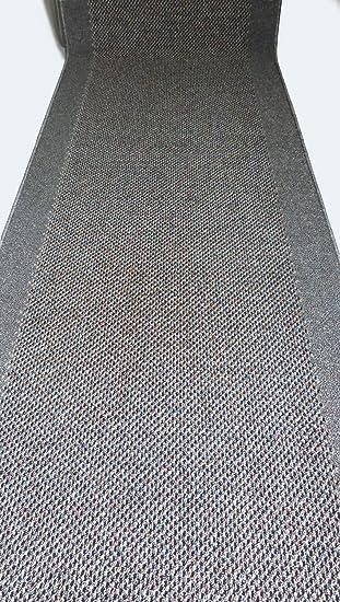Teppich Laufer Meterware Rutschfest Stufenmatten Grau Lfm 37 90