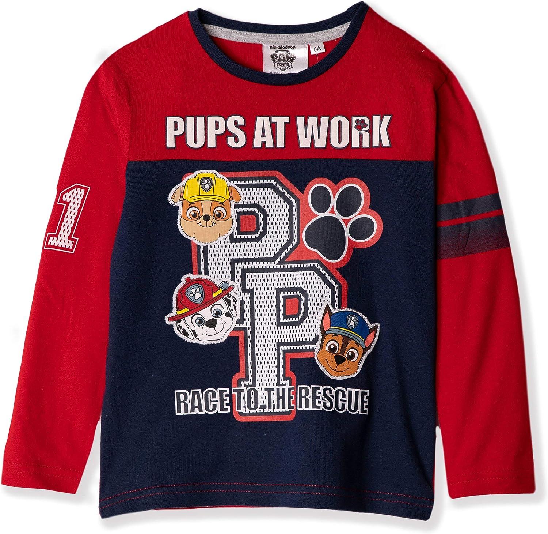 Paw Patrol Boys Shield Characters T-Shirt