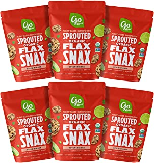 product image for Go Raw Superfood Flax Gluten Free Crackers, Spicy Fiesta, 3 Oz (Pack of 6)