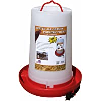 Farm Innovators Model HPF-100 All-Seasons Heated Plastic Poultry Fountain, 3 Gallon, 100-Watt