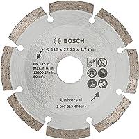 Bosch Diamantschijf 1 Schijf Voor Constructiemateriaal 115 Mm