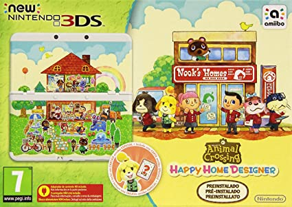 New Nintendo 3DS - Consola, Color Blanco + Animal Crossing ...