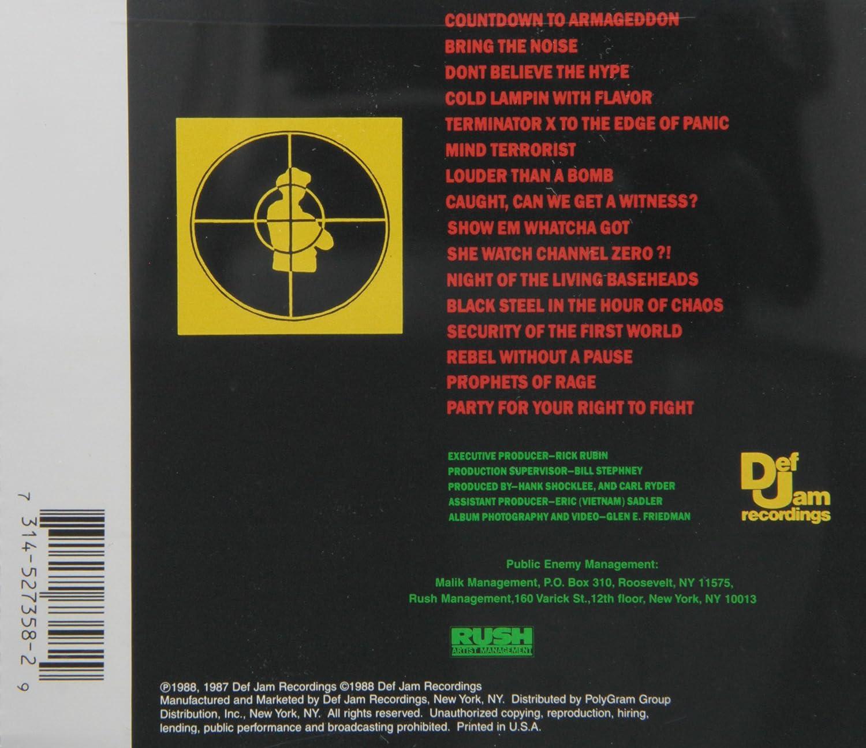 Public Enemy - It Takes A Nation - Amazon.com Music 5b46230fb21b