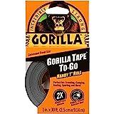 Gorilla 3044401 Tape Handy Roll, 1-Pack, Black