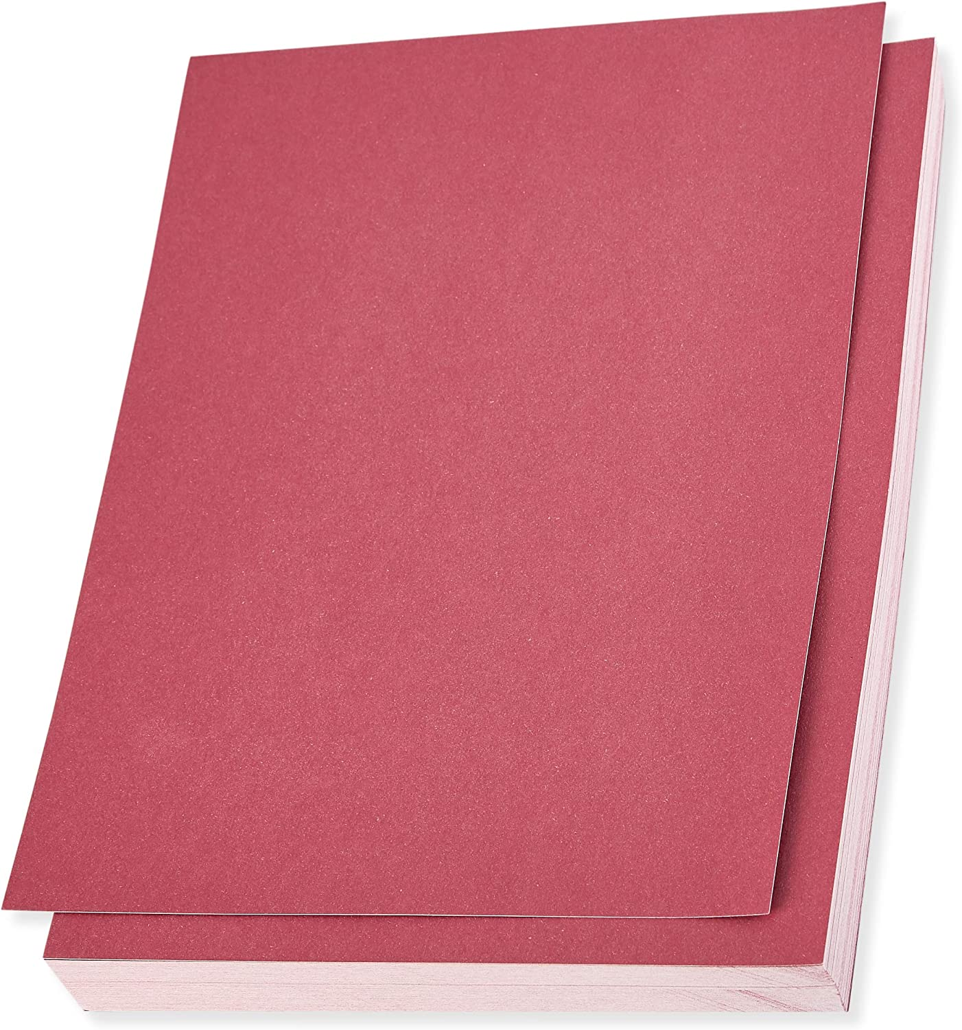 Rose Pink Shimmer Stationery Paper, Letter Size (8.5 x 11 in, 96 Sheets)