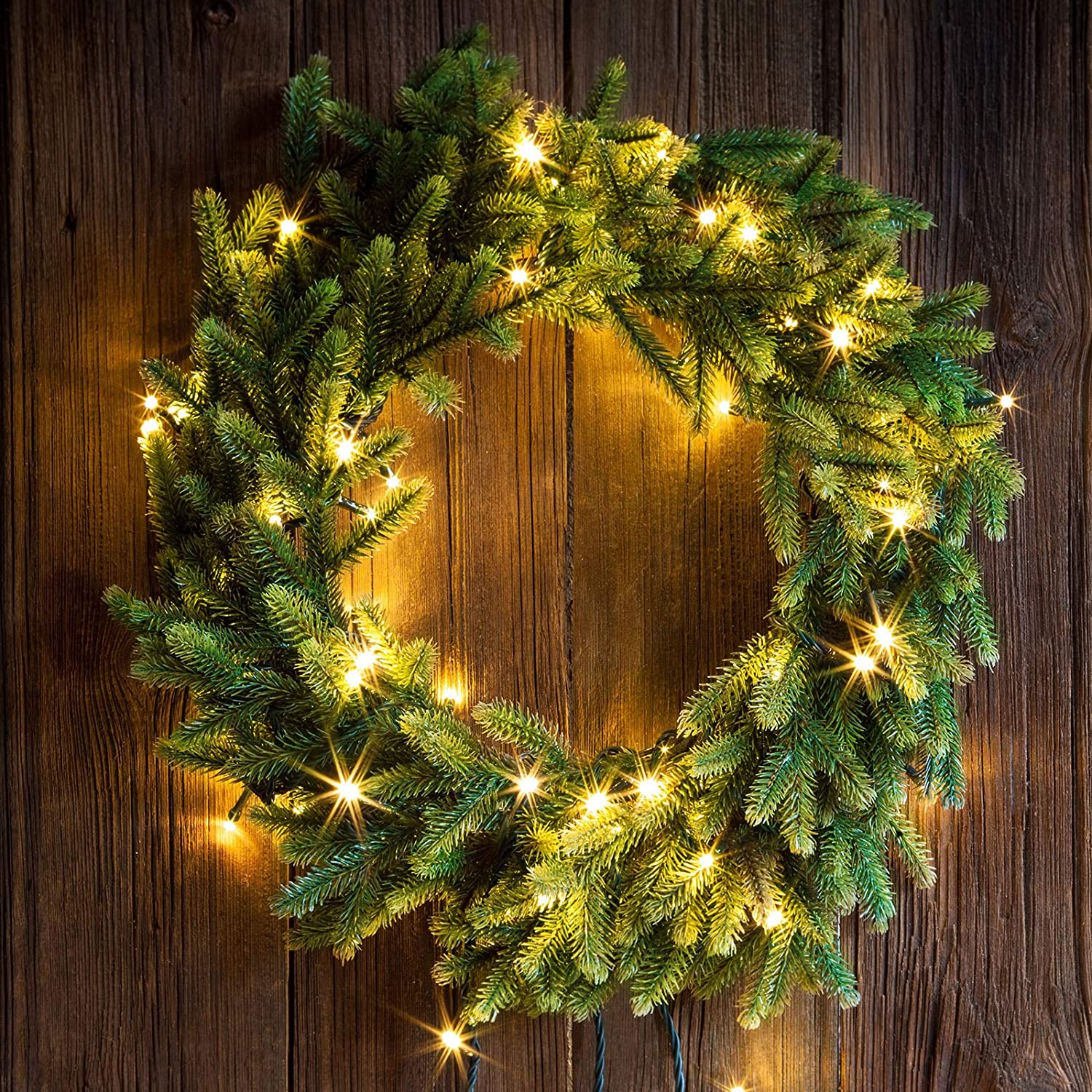 Elcoho 4 Pack Wire Wreath Frame 8 Inch 12 Inch 14 Inch 16 Inch Christmas Metal Wreath Frames with Green Florists Wire