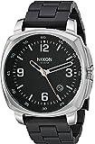Nixon Men's 'Charger' Quartz Stainless Steel Casual Watch, Color:Black (Model: A10722541-00)