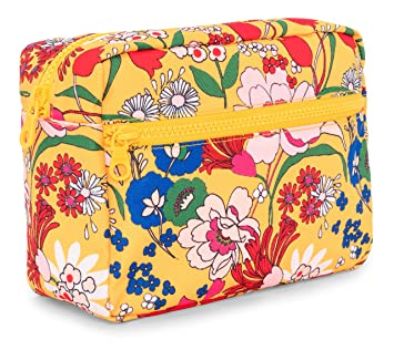Floral Makeup Bag