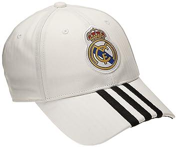adidas - Gorra Real Madrid CF 2014-2015, color negro, talla única: Amazon.es: Deportes y aire libre