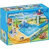 Playmobil Vacaciones - Piscina de los niños con fuente de ballena (5433)