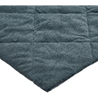 Playette Quilted Travel Cot Fitted & Padded Sheet, Charcoal