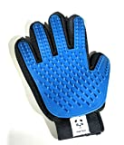 MakPets Pet Grooming Brush Glove For Dogs & Cats