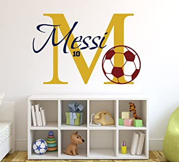 Attractive Personalized Soccer Name Wall Decal   Soccer Room Decor   Nursery Wall  Decals   Soccer Name