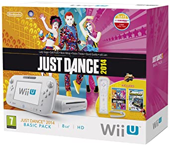 Nintendo Wii U 8Gb Basic Pack Just Dance 2014 Pack With Wii Remote Plus, Senor