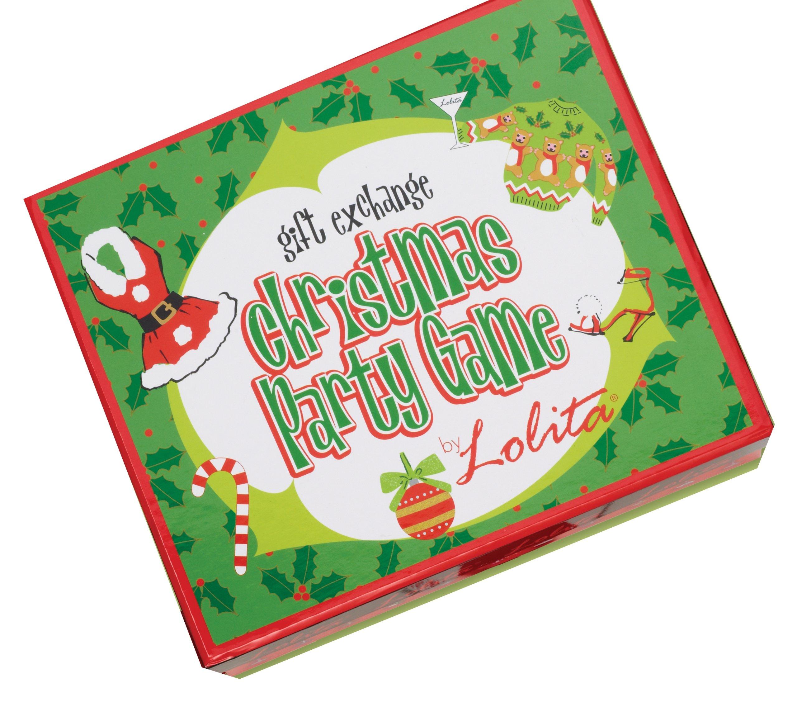 CR Gibson Lolita Christmas Gift Exchange Party Game