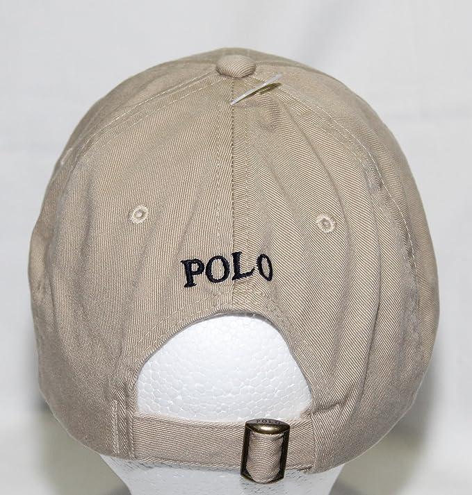 76bb12d0 Amazon.com: Polo Ralph Lauren Classic Baseball Cap Khaki Boys 8-20: Ralph  Lauren Clothes For Boys: Clothing