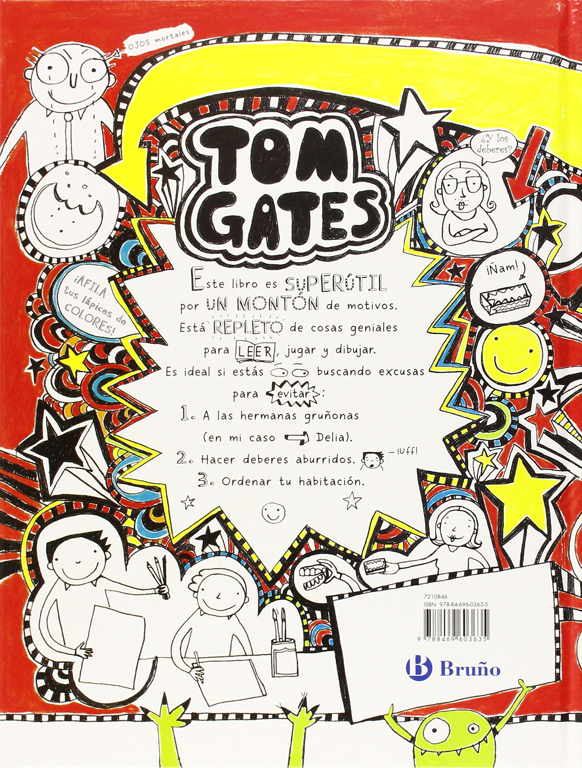 Mega álbum genial Castellano - A Partir De 10 Años - Personajes Y Series - Tom  Gates: Amazon.de: Liz Pichon, Daniel Cortés Coronas: Fremdsprachige Bücher