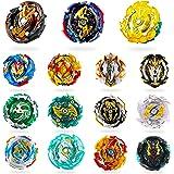 RIMOZO-SPINZ 15 Pieces Bey Battle Top Gyro Burst Turbo Gt God Evolution Metal Fusion Fury Top Birthday Gift Toys for Boys Kid