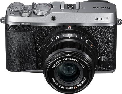 Amazon.com : Fujifilm X-E3 Mirrorless Digital Camera w/XF23mmF2 R WR Kit - Silver : Camera & Photo