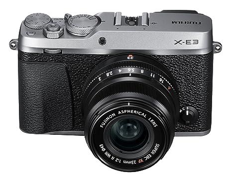 Fujifilm X Series X-E3 Mirrorless Digital Camera w/XF23mmF2 R WR Kit (Black) Digital Cameras at amazon