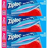 Ziploc Freezer Bags, Gallon, 3 Pack, 28 ct