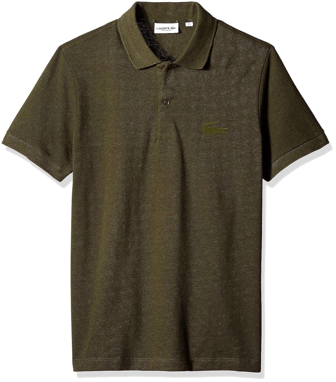 Lacoste Mens Short Sleeve Reg Fit Velvet Croc Polo