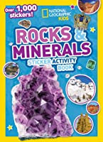 Rocks And Minerals Sticker Activity Book: Over