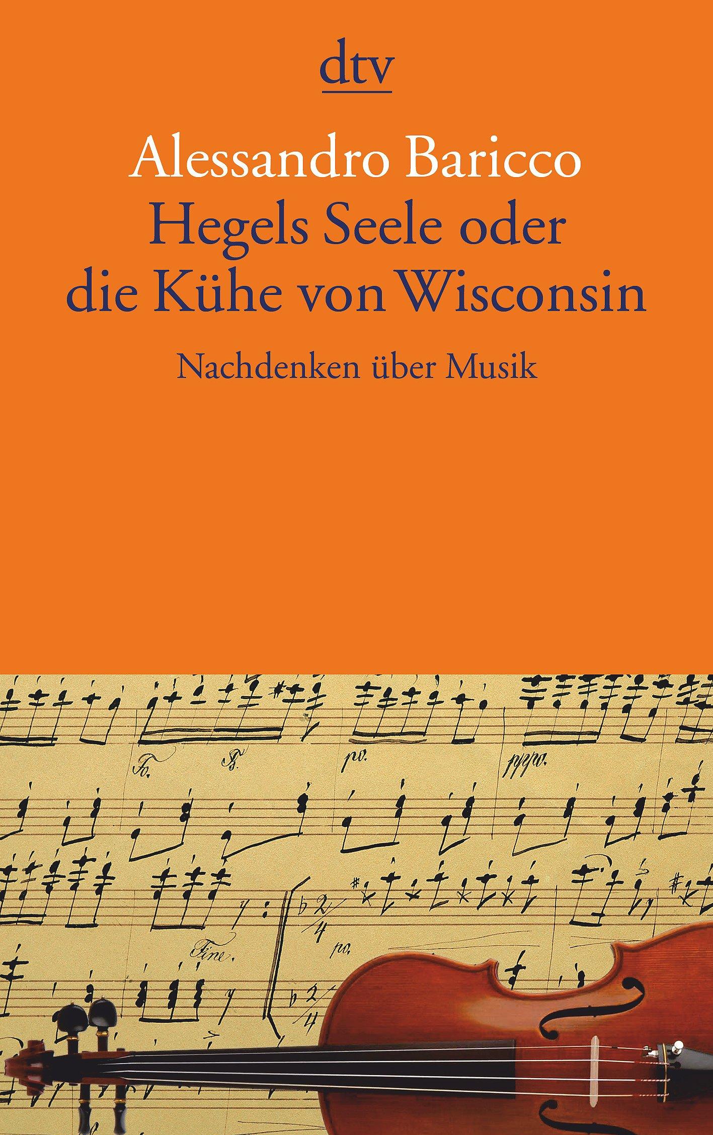Hegels Seele oder die Kühe von Wisconsin: Nachdenken über Musik (dtv Literatur)