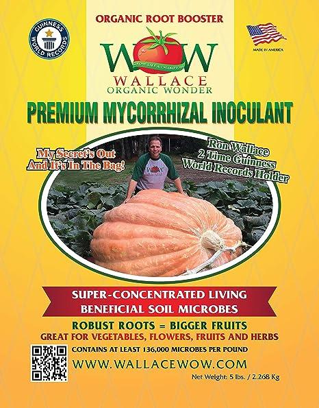 Amazon.com: Wallace Organic Wonder Premium Mycorrhizal Fungi ...