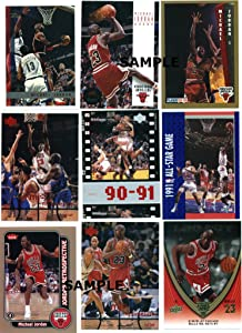 Michael Jordan Trading Cards ~ Lot of (10) Assorted Vintage Cards 1989-2000