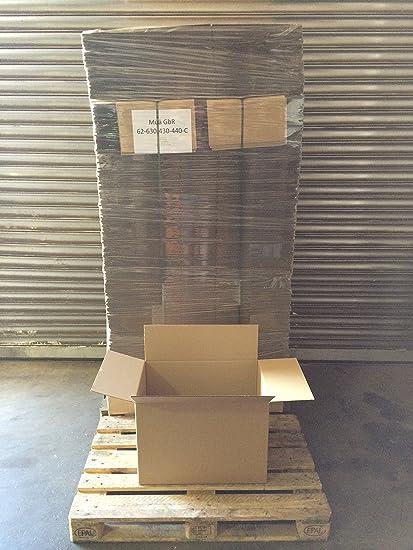 630 X 430 x 440 – 280 Caja en palé: Amazon.es: Oficina y papelería
