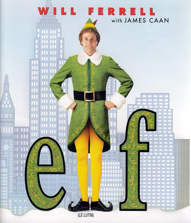 Elf [Blu-ray] (Bilingual) Will Ferrell James Caan Zooey Deschanel Jon Favreau