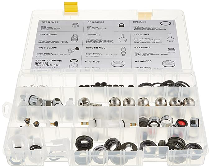 96 Piece Assortment Delta Faucet RP4039 Seats and Springs Kit