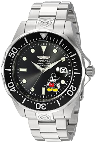 217812701c4 Invicta 24496 Disney Limited Edition - Mickey Mouse Men s Wrist Watch Stainless  Steel Automatic Black Dial