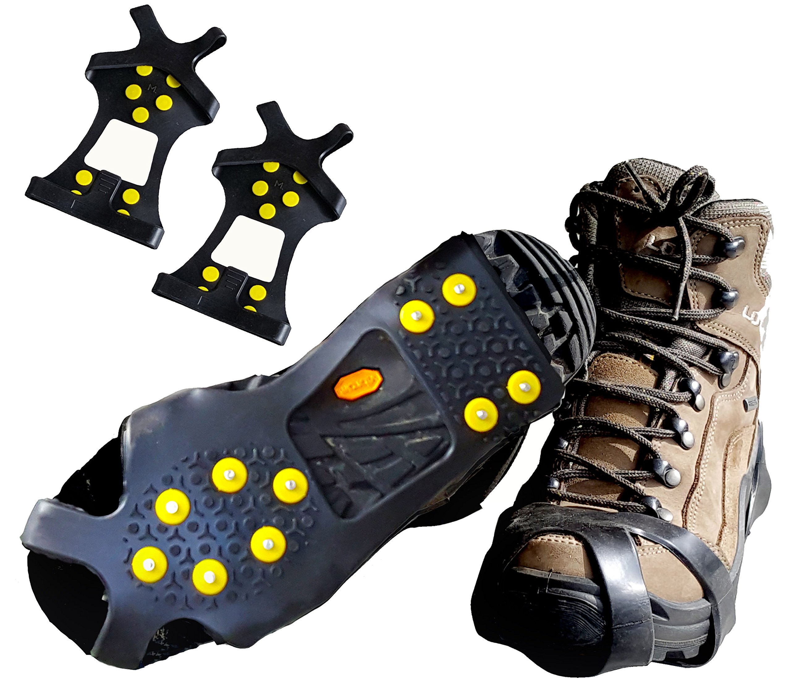 592d262d187e Limm Ice Traction Cleats Pro - Grips Quickly and Easily Over Footwear for  Snow and Ice