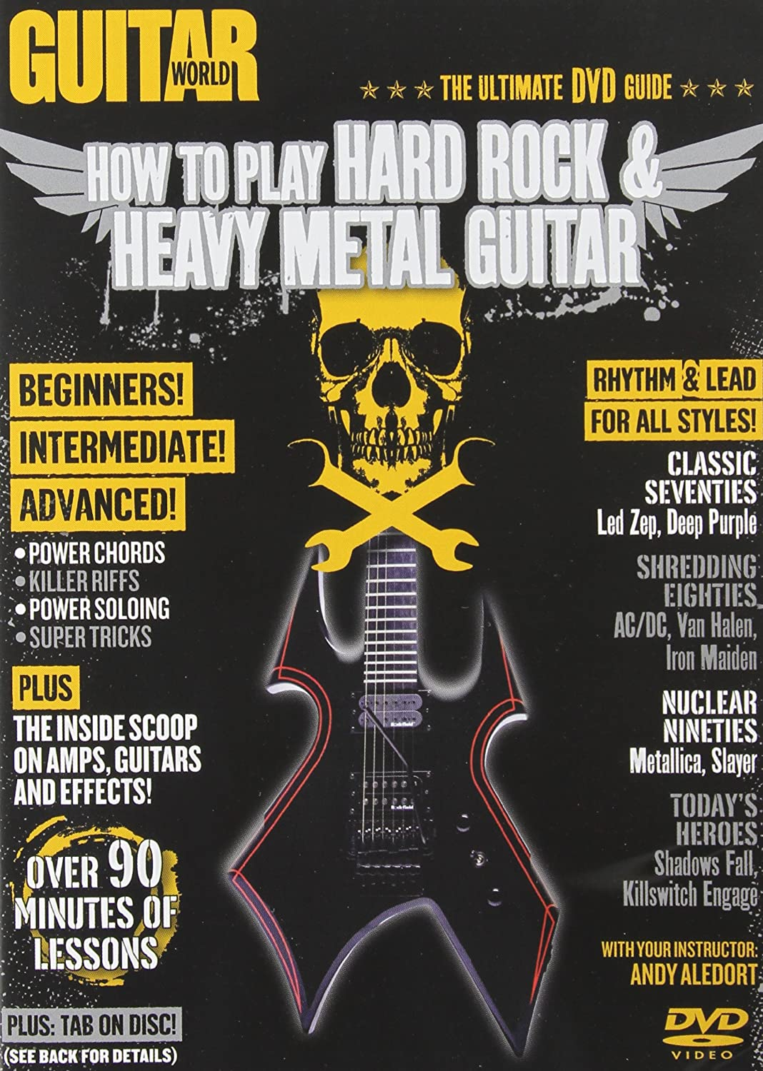 How to play Hard Rock & Heavy Metal Guitar - The ultimate DVD ...