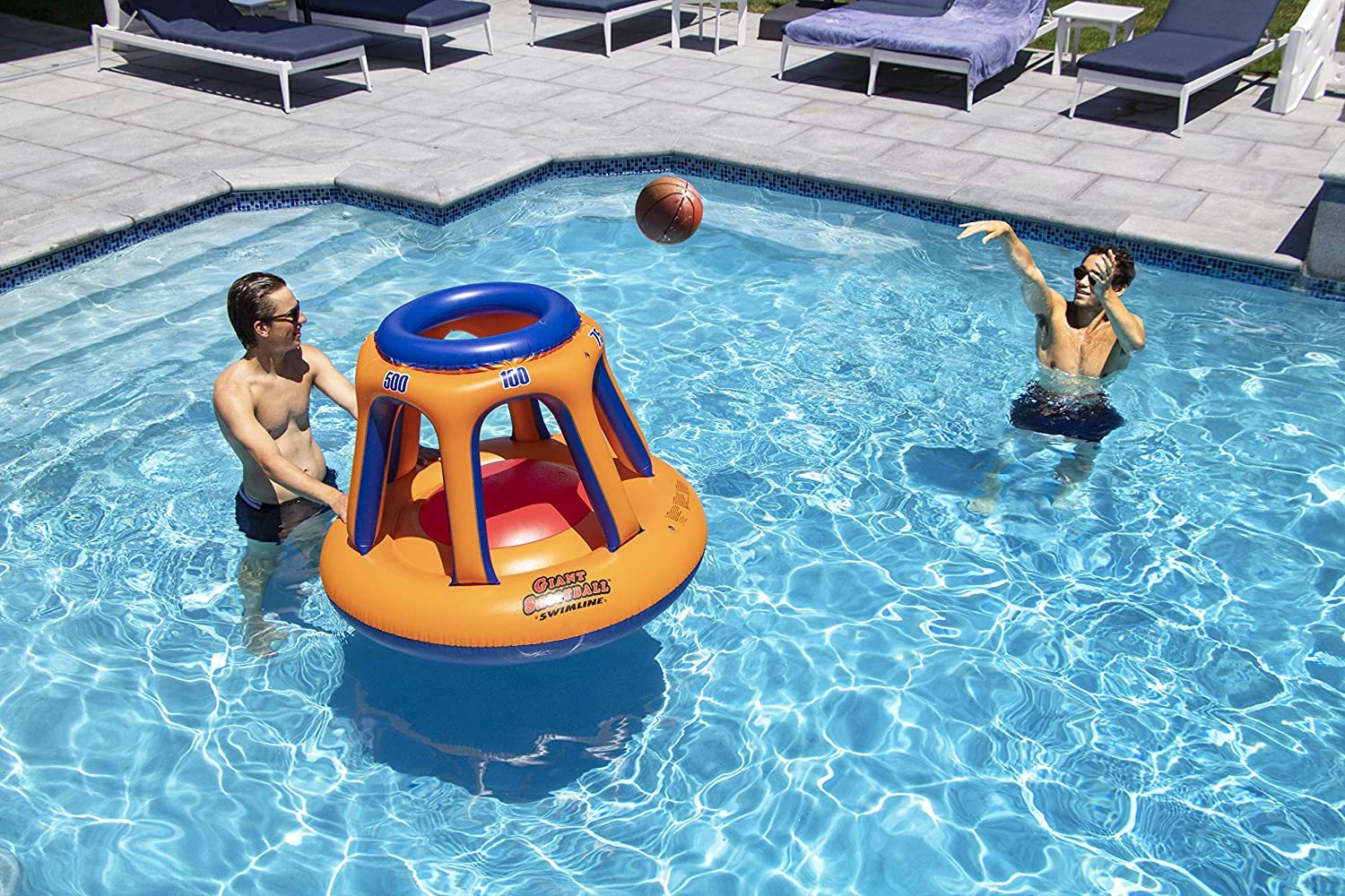 Swimline Giant Basketball Swimming Pool Game