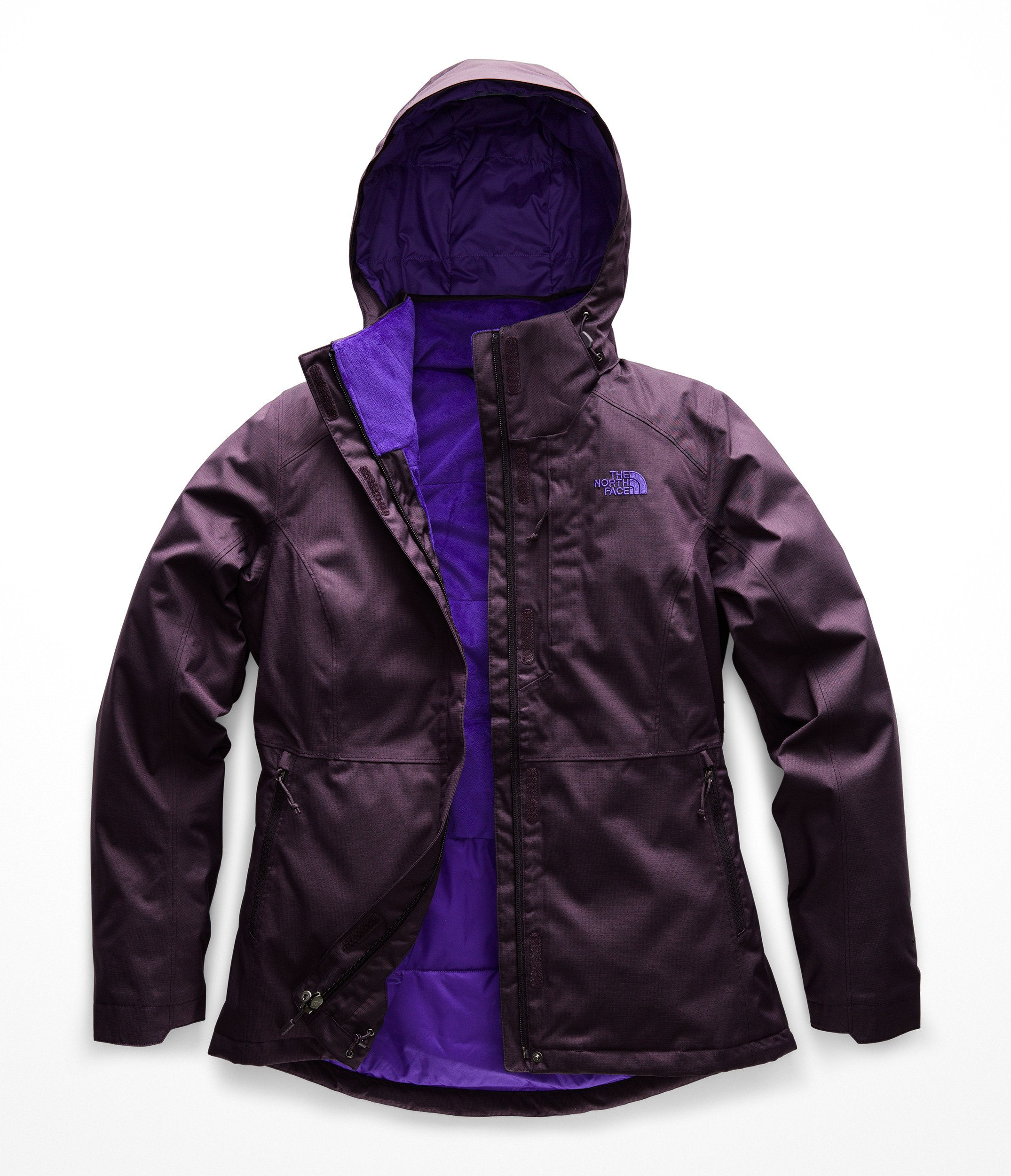 The North Face Women's Inlux 2.0 Insulated Jacket - Galaxy Purple Heather - L