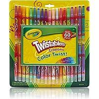 Crayola Twistable Crayons & Paper Toy (60 Piece)