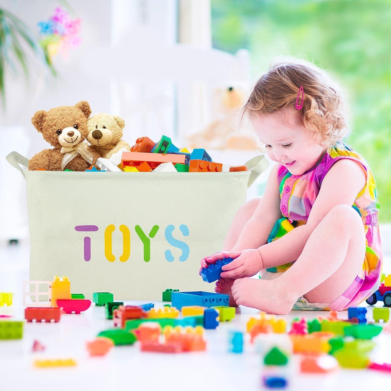 """Amazon OrganizerLogic Toy Storage Baskets 20"""" x 14"""" x 10"""