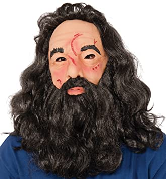 Adults Deluxe Harry Potter Latex Hagrid Mask (máscara/careta)