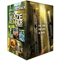 The Maze Runner Series Complete Collection Boxed Set: The Fever Code - The Kill Order - The Death Cure - The Scorch…